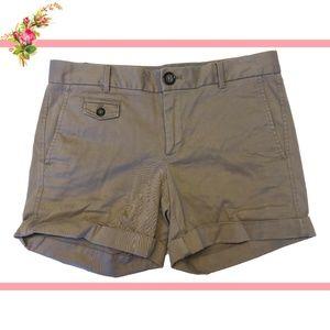 ❤️ Banana Republic Beige Cotton Casual Shorts 2